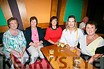 "Enjoying  An Riocht fundraising concert with ""The Kilkenny's"" at the River Island Hotel Castleisland on Saturday were Nelly Healy, Sheila Tangney, Siobhan Moynihan, Brenda Healy Brennan, Mary Moynihan"
