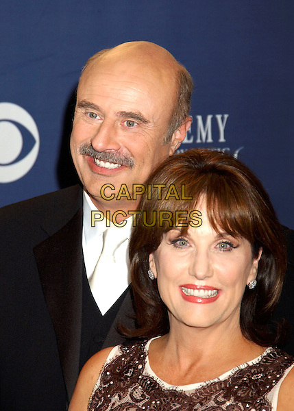 DR. PHIL McGRWAW & WIFE ROBIN.The 40th Annual Academy of Country Music Awards (ACM) held at Mandalay Bay Resort & Casino, Las Vegas, Nevada, USA, 17th May 2005..portrait headshot married husband.Ref: ADM.www.capitalpictures.com.sales@capitalpictures.com.©Laura Farr/AdMedia/Capital Pictures.