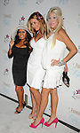 "MARINA DEL REY, CA. - September 27: Nicole ""Snooki"" Polizzi, Aubrey O'Day and Leslie Tyler Fink arrive at the ""Beautiful Eyes"" By Frownies Launch Party at the FantaSea Yacht Club on September 27, 2010 in Marina Del Rey, California."