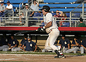 July 3, 2004:  Brett Carroll of the Jamestown Jammers, Single-A NY-Penn League affiliate of the Florida Marlins, during a game at Russell Diethrick Park in Jamestown, NY.  Photo by:  Mike Janes/Four Seam Images