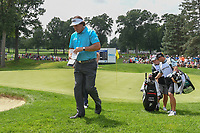 Phil Mickelson (USA) heads to 4 during 1st round of the World Golf Championships - Bridgestone Invitational, at the Firestone Country Club, Akron, Ohio. 8/2/2018.<br /> Picture: Golffile | Ken Murray<br /> <br /> <br /> All photo usage must carry mandatory copyright credit (&copy; Golffile | Ken Murray)