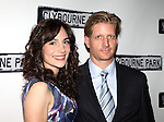 Annie Parisse & Paul Sparks.attending the Broadway Opening Night Performance After Party for 'Clybourne Park' at Gotham Hall in New York City on 4/19/2012