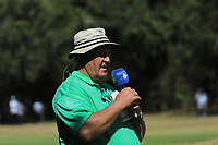 Dale Hayes, Commentator, during the third round of the Magical Kenya Open presented by ABSA played at Karen Country Club, Nairobi, Kenya. 16/03/2019<br /> Picture: Golffile | Phil Inglis<br /> <br /> <br /> All photo usage must carry mandatory copyright credit (&copy; Golffile | Phil Inglis)