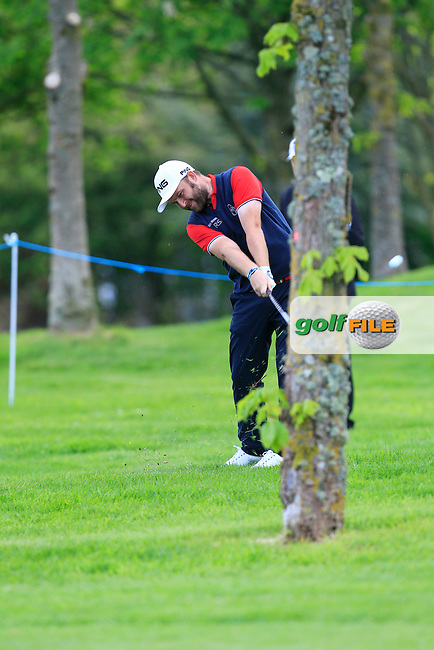 Andy Sullivan (ENG) on the 15th during Wednesday's Pro-Am round of the Dubai Duty Free Irish Open presented  by the Rory Foundation at The K Club, Straffan, Co. Kildare<br /> Picture: Golffile | Thos Caffrey<br /> <br /> All photo usage must carry mandatory copyright credit <br /> (&copy; Golffile | Thos Caffrey)