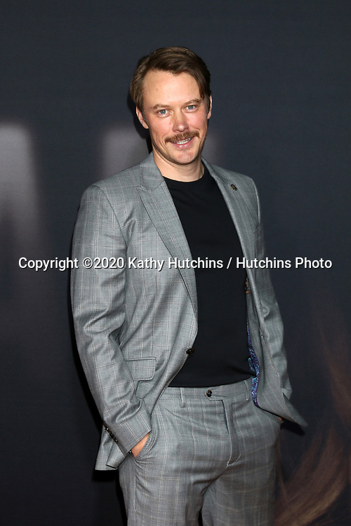 "LOS ANGELES - FEB 24:  Michael Dorman at the ""The Invisible Man"" Premiere at the TCL Chinese Theater IMAX on February 24, 2020 in Los Angeles, CA"