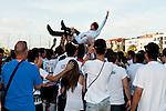 Partido de vuelta entre el Catarroja y el Tudelano de la promocion de ascenso a 2ª B.<br /> Catarroja - Valencia (Spain)<br /> 23-Junio-2012