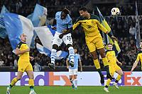 Felipe Caicedo of SS Lazio , Christopher Jullien of Celtic <br /> Roma 7-11-2019 Stadio Olimpico <br /> Football Europa League 2019/2020 <br /> SS Lazio - Celtic <br /> Photo Andrea Staccioli / Insidefoto