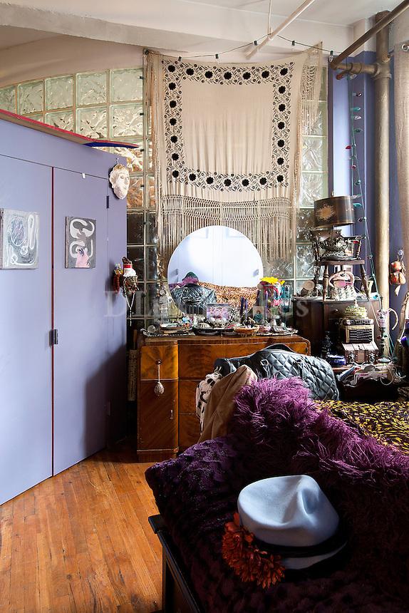Eclectic bohemian bedroom