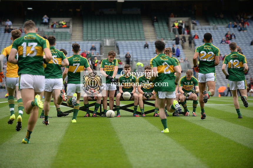 Kerry win the 2016 All-Ireland Minor Football Championship.<br /> Photo Don MacMonagle