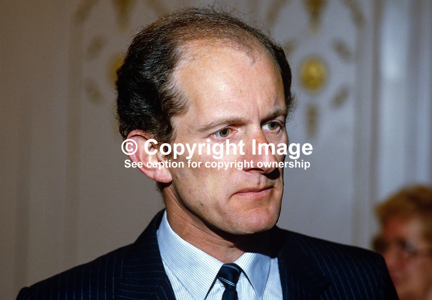 Michael Maclaran, N Ireland Chamber of Commerce, 19850027MM..Copyright Image from Victor Patterson, 54 Dorchester Park, Belfast, UK, BT9 6RJ..Tel: +44 28 9066 1296.Mob: +44 7802 353836.Voicemail +44 20 8816 7153.Skype: victorpattersonbelfast.Email: victorpatterson@mac.com.Email: victorpatterson@ireland.com (back-up)..IMPORTANT: If you wish to use this image or any other of my images please go to www.victorpatterson.com and click on the Terms & Conditions. Then contact me by email or phone with the reference number(s) of the image(s) concerned.