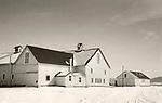 Scan of vintage print. 1980's. Barn, Lewisburg, PA.