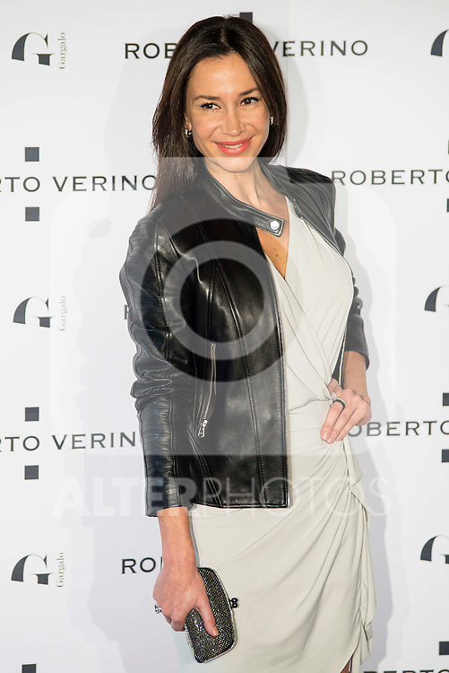 "Cecilia Gomez during the presentation of the new Spring-Summer collection ""Un Balcon al Mar"" of Roberto Verino at Platea in Madrid. March 16, 2016. (ALTERPHOTOS/Borja B.Hojas)"