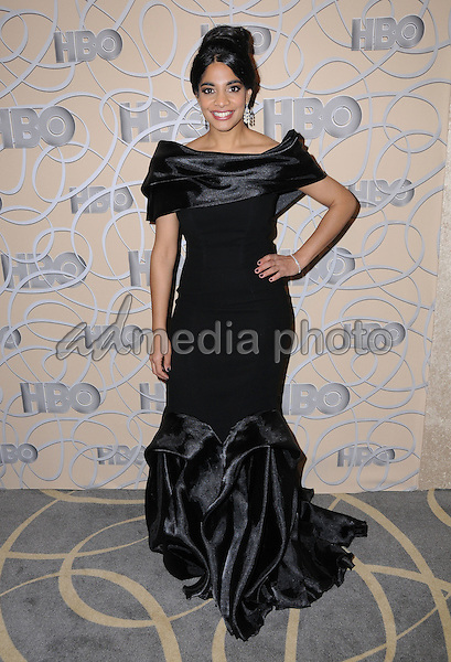 08 January 2017 - Beverly Hills, California - Amara Karan. HBO's Official 2017 Golden Globe Awards After Party held at the Beverly Hilton Hotel Photo Credit: Birdie Thompson/AdMedia