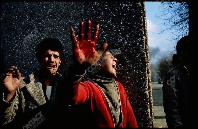 Iranian revolution, Tehran, Iran, January 1979.