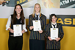 Basketball Girls Finalists. ASB College Sport Young Sportsperson of the Year Awards 2006, held at Eden Park on Thursday 16th of November 2006.<br />
