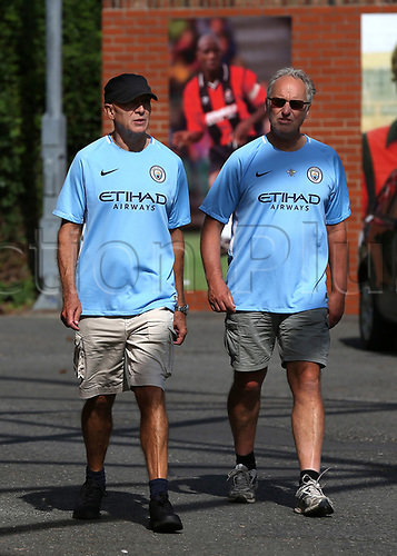 26th August 2017, Vitality Stadium, Bournemouth, England; EPL Premier League football, Bournemouth versus Manchester City;  Manchester City fans make their way to The Vitality Stadium