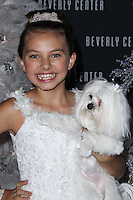 LOS ANGELES, CA - NOVEMBER 14: Caitlin Carmichael at Beverly Center Holiday Debut With Stars And Their Pets held at The Beverly Center on November 14, 2013 in Los Angeles, California. (Photo by Xavier Collin/Celebrity Monitor)