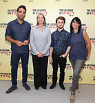 Bobby Cannavale, Cherry Jones, Daniel Radcliffe and Leigh Silverman attend the cast photo call for 'The Lifespan of a Fact' at the New 42nd Street Studios on September 6, 2018 in New York City.