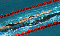 14 MAR 2006 - MELBOURNE, AUSTRALIA - A competitor trains before the start of the 2006 Commonwealth Games. (PHOTO (C) NIGEL FARROW)