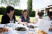 Lunch at Txari´s, Pais Vasco, Spain