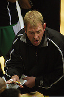 Jets coach Tim McTamney during the NBL Round 14 match between the Manawatu Jets  and Wellington Saints. Arena Manawatu, Palmerston North, New Zealand on Saturday 31 May 2008. Photo: Dave Lintott / lintottphoto.co.nz