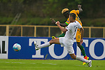 Australia vs Kyrgyzstan during their AFC U-16 Championship India 2016 Group B match at GMC Stadium on 16 September 2016, in Goa, India. Photo by Stringer / Lagardere Sports