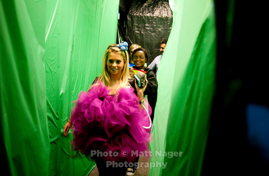 Southwest Airlines enjoyed their annual Halloween festivities at the headquarters building near Love Field Airport in Dallas, Texas, Friday, October 29, 2010...PHOTO/ MATT NAGER