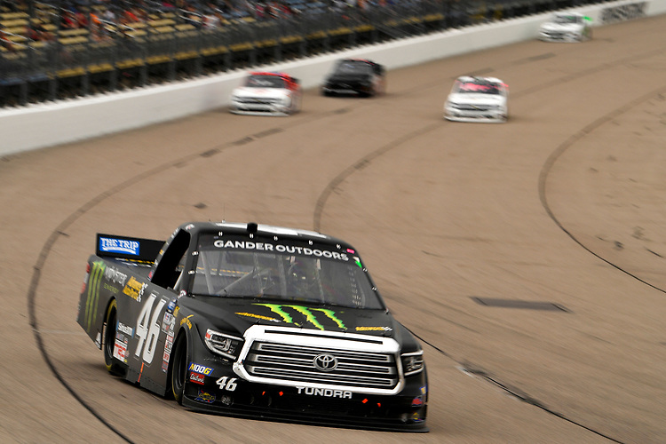 #46: Riley Herbst, Kyle Busch Motorsports, Toyota Tundra Monster Energy/Advance Auto Parts
