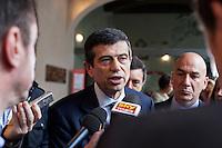 06/05/2013 Milano: Maurizio Lupi a Milano per la nomina di Giuseppe Sala a commissario unico di Expo 2015.