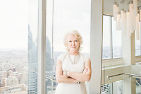 Portrait of D'Arcy Rudnay, Executive Vice President and Chief Communications Officer for Comcast.