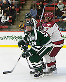 Carl Hesler (Dartmouth - 20), Kyle Criscuolo (Harvard - 11) - The Harvard University Crimson tied the visiting Dartmouth College Big Green 3-3 in both team's first game of the season on Saturday, November 1, 2014, at Bright-Landry Hockey Center in Cambridge, Massachusetts.
