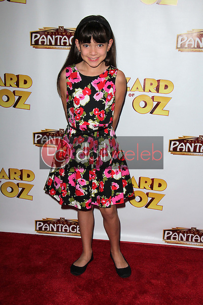 """Chloe Noelle<br /> at """"The Wizard Of Oz"""" Los Angeles Premiere, Pantages Theater, Hollywood, CA 09-18-13<br /> David Edwards/DailyCeleb.Com 818-249-4998"""