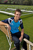 Cricket - Scottish Saltires new import as overseas player Luke Butterworth took part in his first training session in advance of this week's friendly match against the MCC followed by CB40 games away to Durham and Leicester at the weekend - all-rounder Butterworth follows in the footsteps of Tasmania State side players George Baillie and Ed Cowan in appearing in a Scotland shirt - picture taken at Grange CC in Edinburgh - Picture by Donald MacLeod - 20.04.11 - 07702 319 738 - www.donald-macleod.com