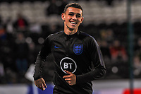 England Under 21's midfielder Phil Foden (10) during the UEFA Euro U21 Qualifying match between England U21 & Kosovo U21 at KCOM Craven Park, Hull, England on 9 September 2019. Photo by Stephen Buckley / PRiME Media Images.