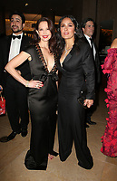 BEVERLY HILLS, CA - JANUARY 7: Ashley Judd, Salma Hayek, at 75th Annual Golden Globe Awards_Roaming at The Beverly Hilton Hotel in Beverly Hills, California on January 7, 2018. <br /> CAP/MPIFS<br /> &copy;MPIFS/Capital Pictures