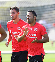 Branimir Hrgota und Marco Fabian (Eintracht Frankfurt) - 05.09.2018: Eintracht Frankfurt Training, Commerzbank Arena, DISCLAIMER: DFL regulations prohibit any use of photographs as image sequences and/or quasi-video.