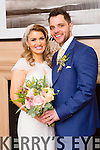 Michelle O'Hara, Ardfert, Daughter of James and Kathy O'Hara, and Gary Kissane, Tralee, son of Sean Kissane and Marian Miller were Married at Ardfert Church by Fr. Finnucane on Saturday 7th March 2015 with a reception at  Ballygarry House Hotel