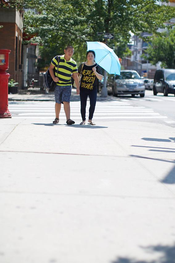 BROOKLYN, NY - July 13, 2015: A walk through Sunset Park.<br /> <br /> Credit: Clay Williams.<br /> <br /> &copy; Clay Williams / http://claywilliamsphoto.com