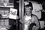 Sonny Bono attends a Celebrity Charity Tennis Tournament at Long Island City Courts on May 17, 1981 in New York City.