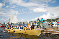 2011 Lake Union Wooden Boat Festival at the Center For Wooden Boats in Seattle, Washington on Sunday, Jul. 3, 2011.