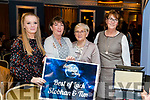 Gloria Keane, Mary Doherty, Helen O'Hara and Tess Meehan at the John Mitchels GAA 'Strictly Come Dancing' at Ballygarry House Hotel on Sunday night.