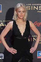 US actress Jennifer Lawrence poses for the photographers during the photocall of `The Hunger Games: Mockingjay Part 2´ movie presentation in Madrid, Spain. November 10, 2015. (ALTERPHOTOS/Victor Blanco)
