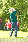 Helen O'Donoghue Ross Golf Club tees off at the in the Nines Kerry final in Castlerosse Golf Course on Saturday   Copyright Kerry's Eye 2008