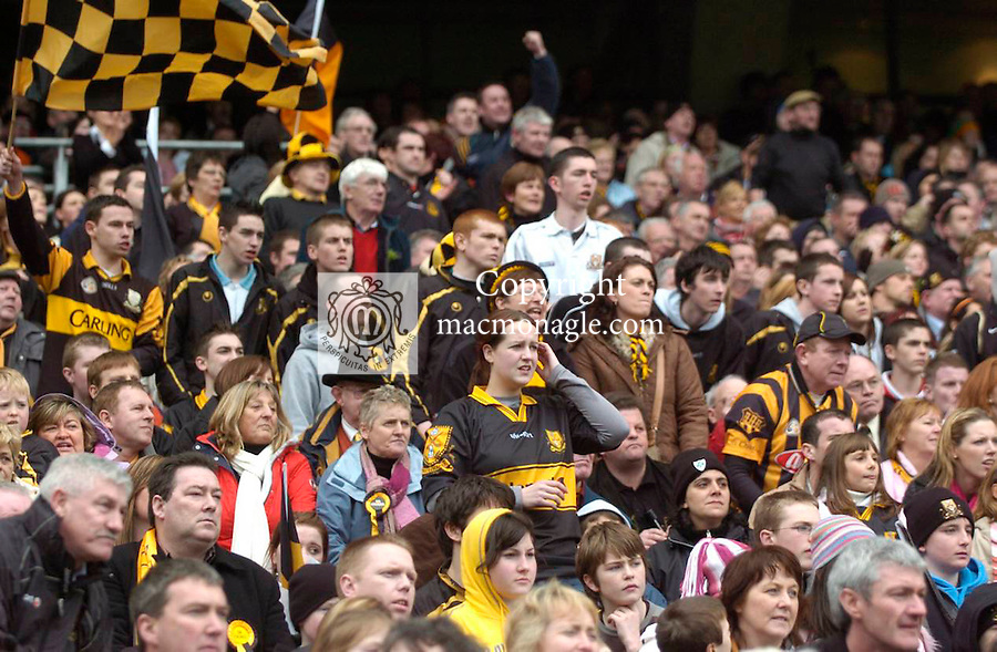 Dr Crokes  and Crossmaglen Rangers fans   at the   All Ireland Club final in 2007. Picture: Eamonn Keogh (MacMonagle, Killarney)
