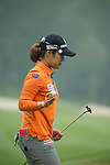 Seeing Hyun Lee of South Korea putts on the green during Round 4 of the World Ladies Championship 2016 on 13 March 2016 at Mission Hills Olazabal Golf Course in Dongguan, China. Photo by Victor Fraile / Power Sport Images