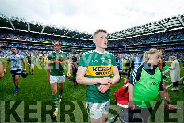 Jason Foley, Kerry  after the GAA Football All-Ireland Senior Championship Final match between Kerry and Dublin at Croke Park in Dublin on Sunday.