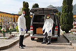 DIS - Coronavirus Outbreak - Cemetery Works