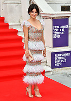 """LONDON, UK, AUGUST 08: Penelope Cruz attends the opening night of Film4 Summer Screen at Somerset House featuring the UK Premiere of """"Pain And Glory"""" on August 8, 2019 in London, England. <br /> CAP/JOR<br /> ©JOR/Capital Pictures"""
