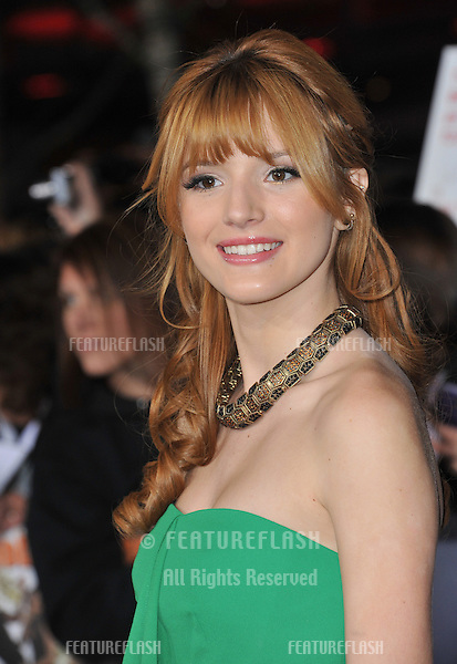 "Bella Thorne at the world premiere of ""The Twilight Saga: Breaking Dawn - Part 2"" at the Nokia Theatre LA Live..November 12, 2012  Los Angeles, CA.Picture: Paul Smith / Featureflash"