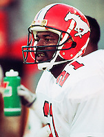 Eric Mitchell Calgary Stampeders 1991. Photo: F. Scott Grant